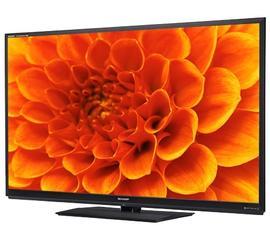 Sharp 60-inch TV.