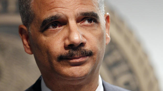 Eric Holder held in contempt