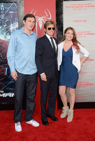 """The Amazing Spider-Man"" hits Hollywood"