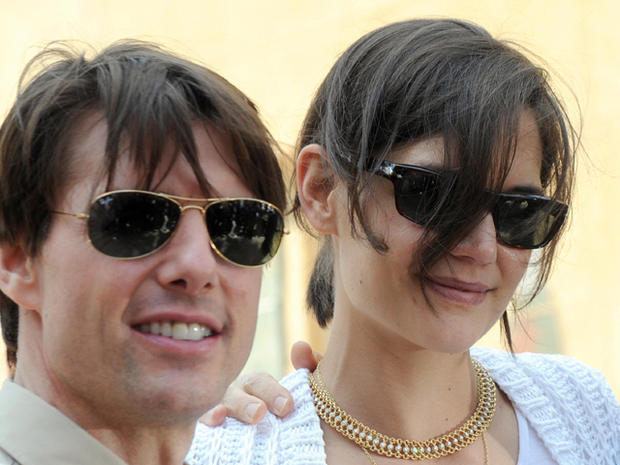 Tom Cruise and Katie Holmes