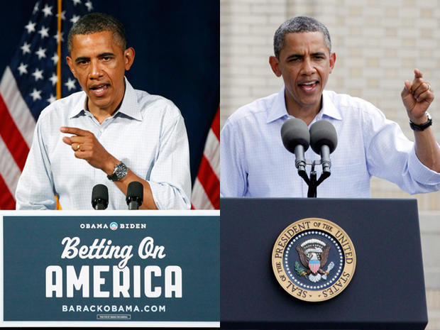 President Barack Obama speaks at Dobbins Elementary School in Poland, Ohio, Friday, July 6, 2012, during his Betting On America campaign tour.