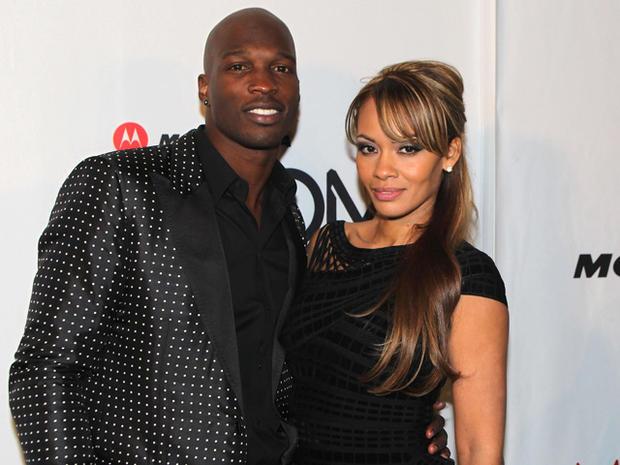 Chad (Ochocinco)  Johnson and Evelyn Lozada