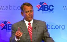 Boehner, Portman slam Obama for raising taxes