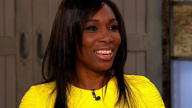 "Venus Williams on ""CBS This Morning."""