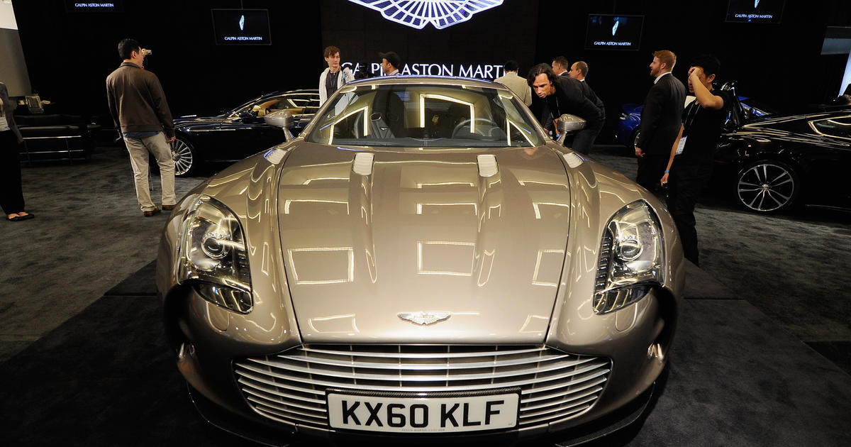 9 Aston Martin One 77 Top 10 Fastest Cars In The World Cbs News