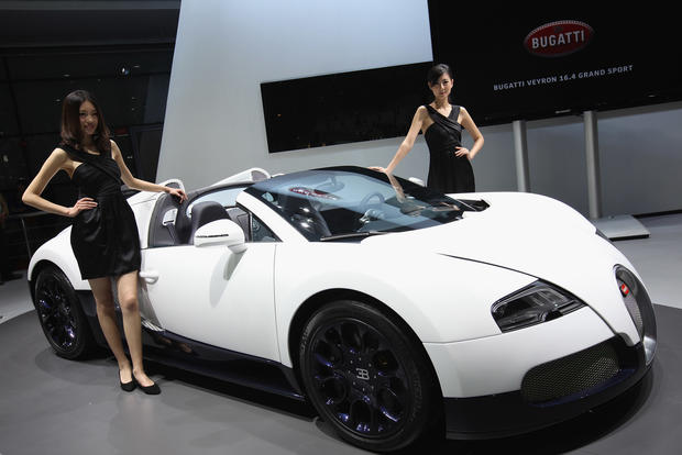 1 Bugatti Veyron Super Sport Top 10 Fastest Cars In The World Cbs News