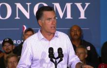 "Romney: ""Liberal policies don't make good jobs"""