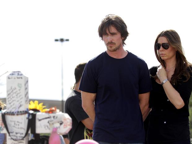 Christian Bale visits Aurora