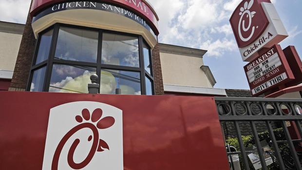Chick-fil-A fast food restaurant in Atlanta