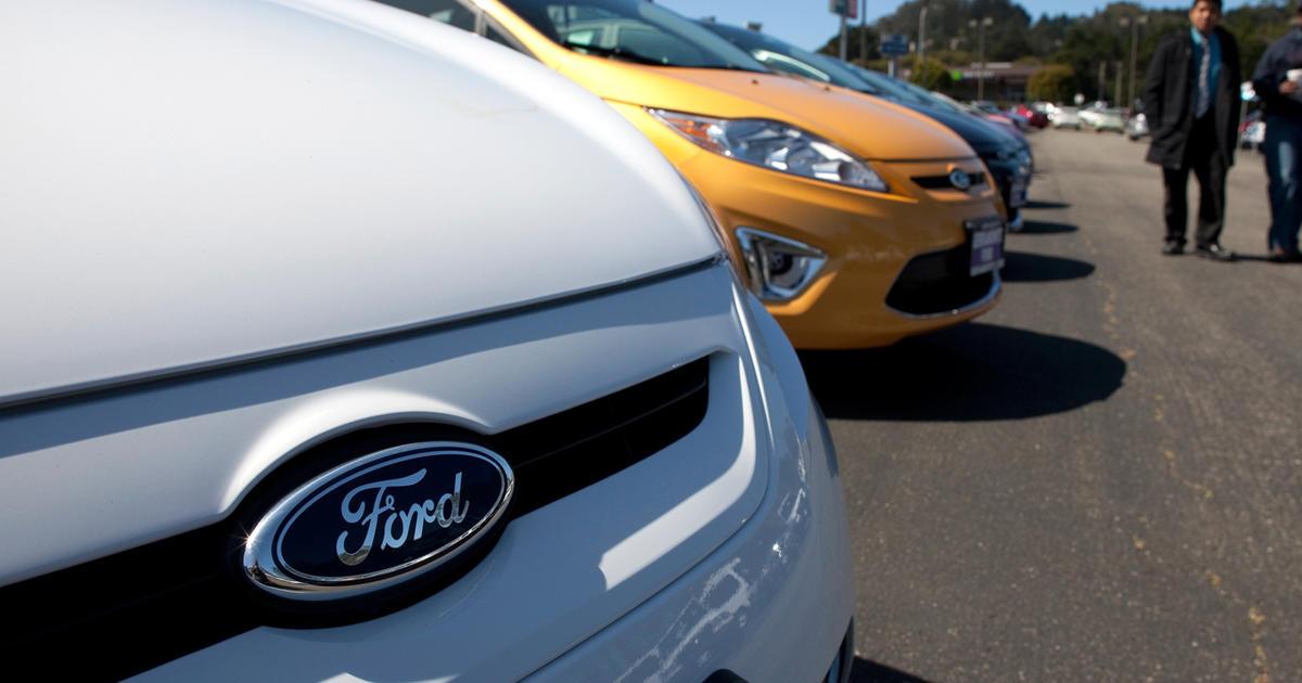 Us Auto Sales >> Braking auto sales overseas lower earnings in Detroit - CBS News