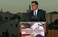Romney to Israel: No options off table against Iran