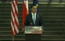 Romney praises Polish economy as example for Europe
