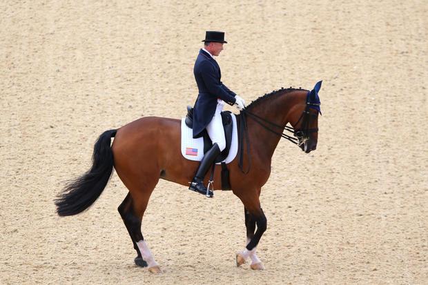 Ann Romney's Olympic horse