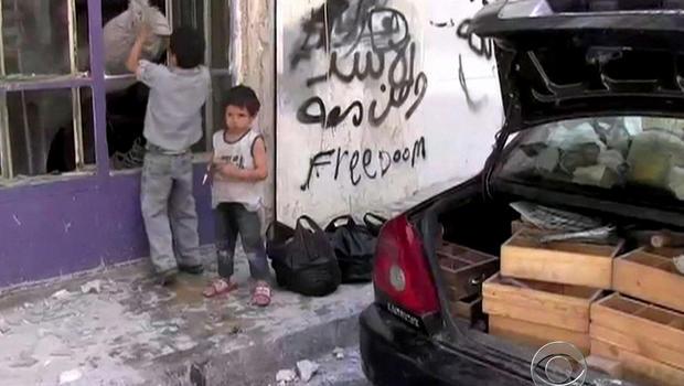 syria, children