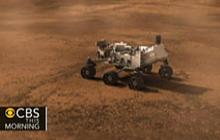 """Rover """"Curiosity"""" lands on Mars, sends photos"""