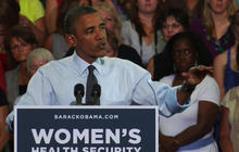 Obama: Romney, GOP want to take women back to 1950s
