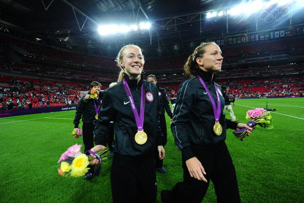 U.S. women win 3rd straight soccer gold