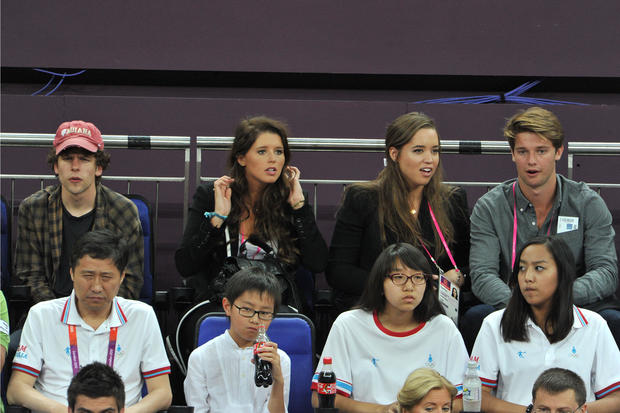 Celebrities at the Olympics