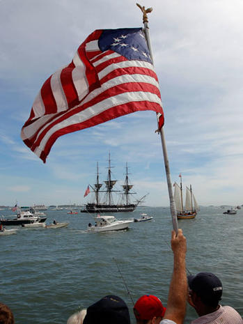 USS Constitution sets sail again