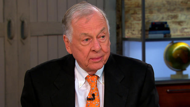 """T. Boone Pickens appears on """"CBS This Morning,"""" Aug. 23, 2012."""