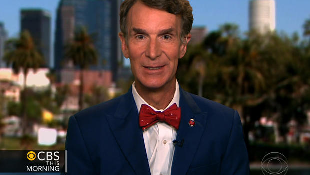 "Bill Nye on ""CBS This Morning."""