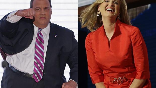 Chris Christie and Ann Romney