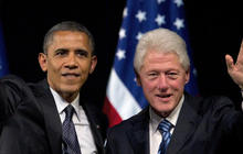 How Clinton, Obama forged political partnership