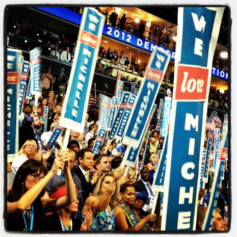 Instagram pics from 2012 DNC and RNC