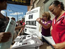 Chicago Teachers Union, strike
