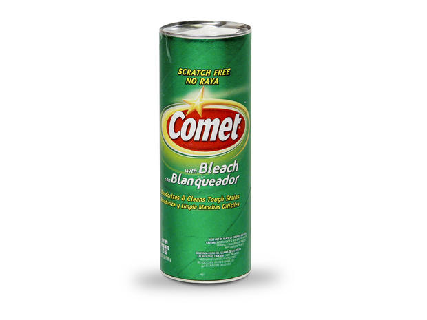 Comet Disinfectant Cleanser Powder Ewg S Hall Of Shame Of Toxic Household Cleaners Cbs News