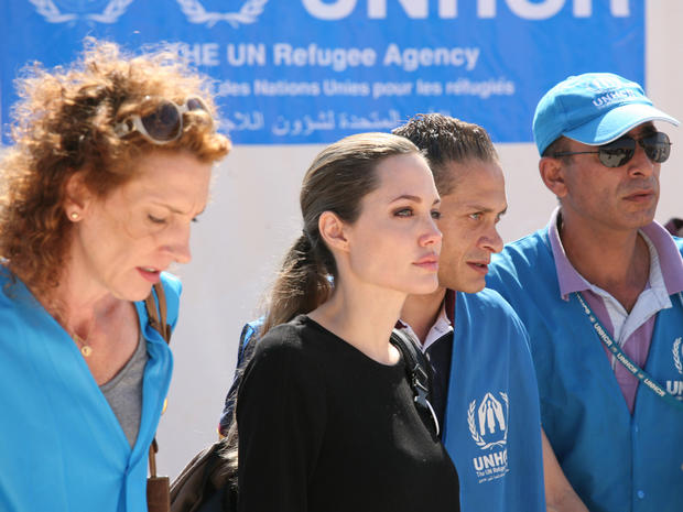 Angelina Jolie in the Mideast