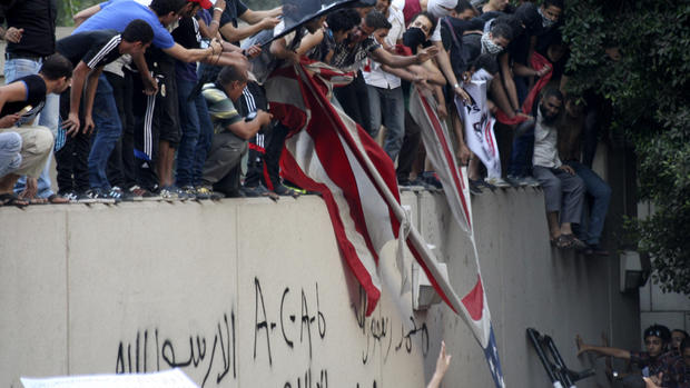 U.S. Embassy protest in Cairo