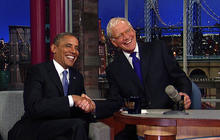 President Obama's interview with David Letterman