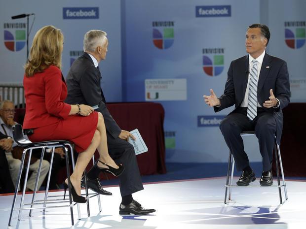 Mitt Romney, Univision