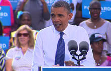 Obama to Romney: We don't want an inside job, we want change