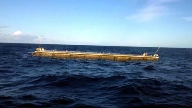 Japan tsunami debris hits Hawaii
