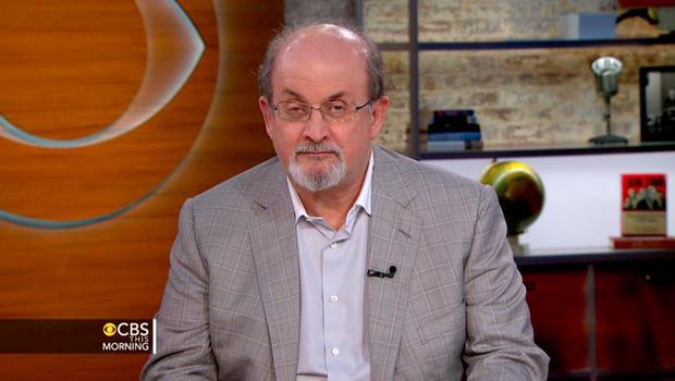Salman Rushdie talks new book, furor over anti-Muslim film