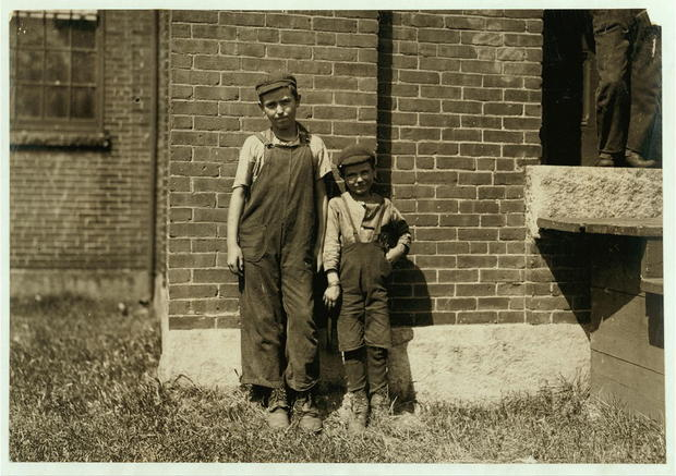 Child labor photos from 1911