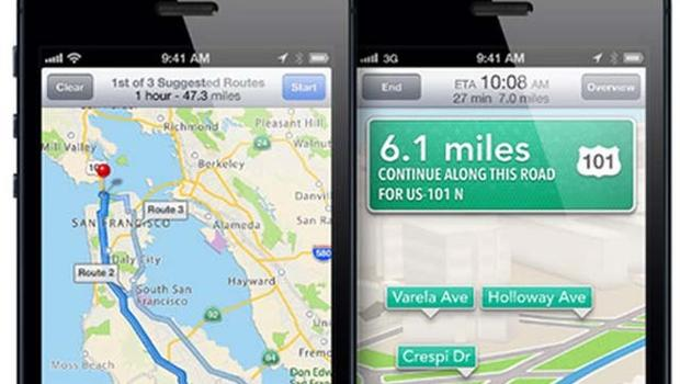 Report Apple Google Maps Debacle Sparked By Voice Navigation - Google Maps Us 101