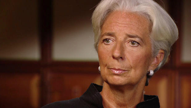 Christine Lagarde on signs of an improving U.S. economy