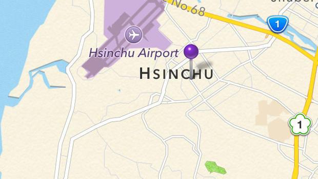 Taiwan asking Apple to blur satellite images of \