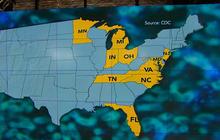 Meningitis outbreak kills 12, spreads to 10 states