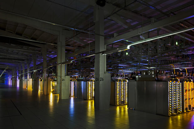Tour Google's secret global data centers