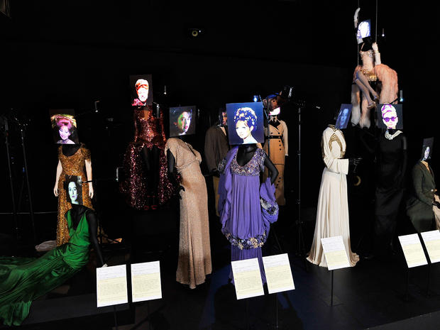 Hollywood costumes on display