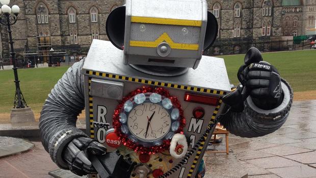 A robocaller?