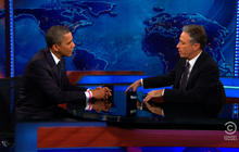 "Obama to Jon Stewart: Consulate attack response ""not optimal"""