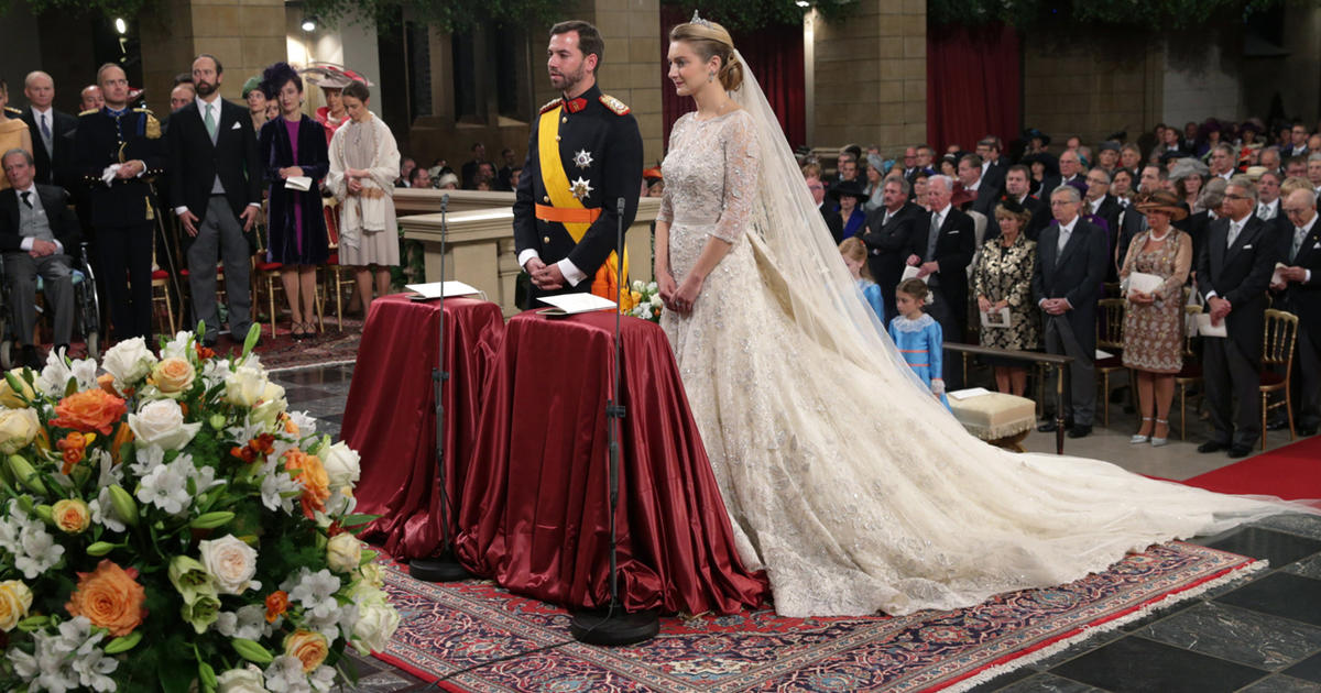 Princess Stephanie - Royal wedding gowns - Pictures - CBS News