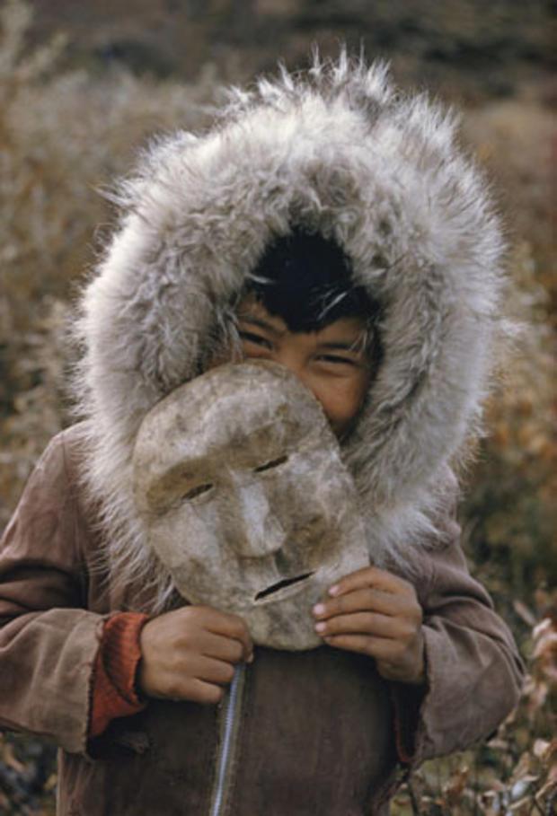 A Nunamiut boy, Anaktuvuk Pass, Alaska
