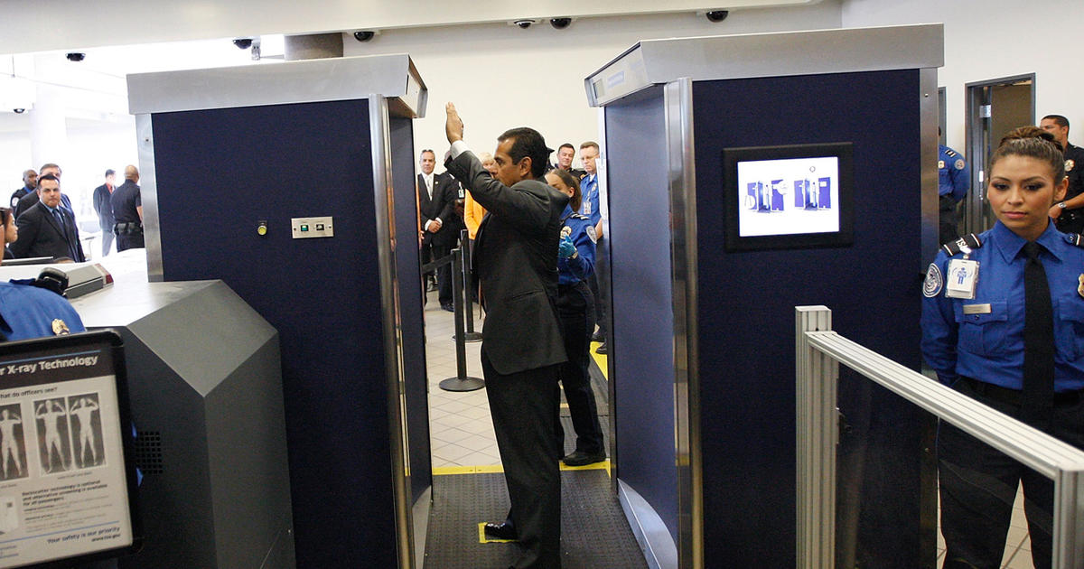 airport scanners full body screening machines The full-body scanners in use at 78 us airports can detect small amounts of contraband and hidden weapons, all while producing controversial images of travelers.