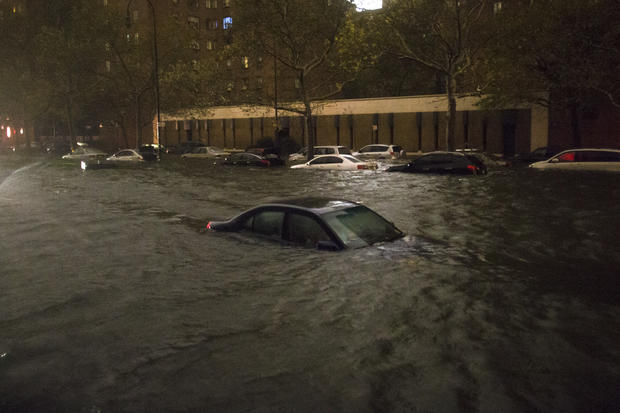 Superstorm floods New York City
